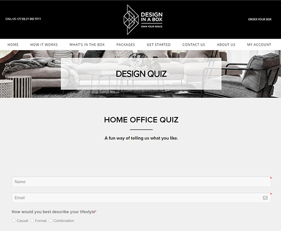 How It Works - Take Our Fun Quiz