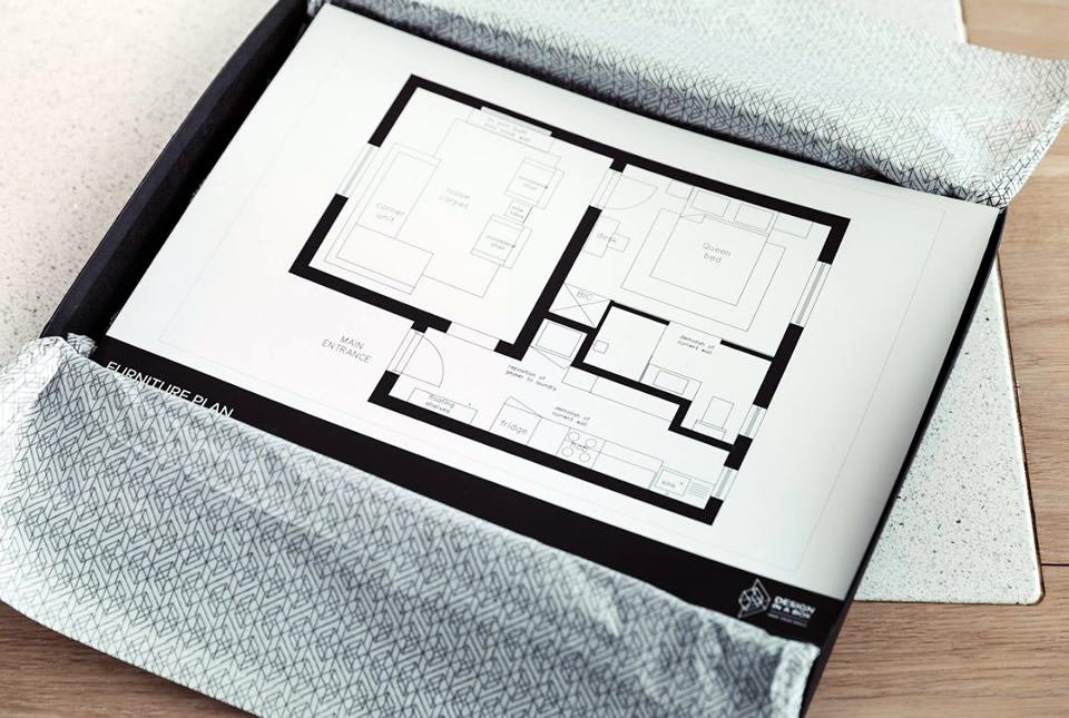 What's In The Box - Furniture Plan style picture