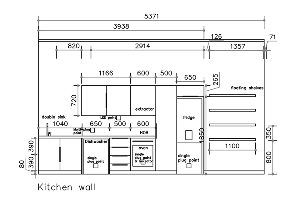 Custom Elevations - Kitchen style image